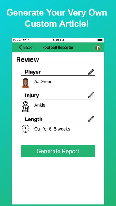 Football Reporter