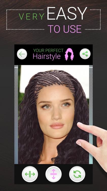 Perfect Hairstyle Women PRO screenshot-5