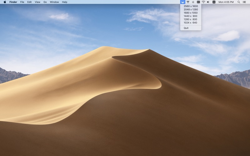 Display Resizer for Mac