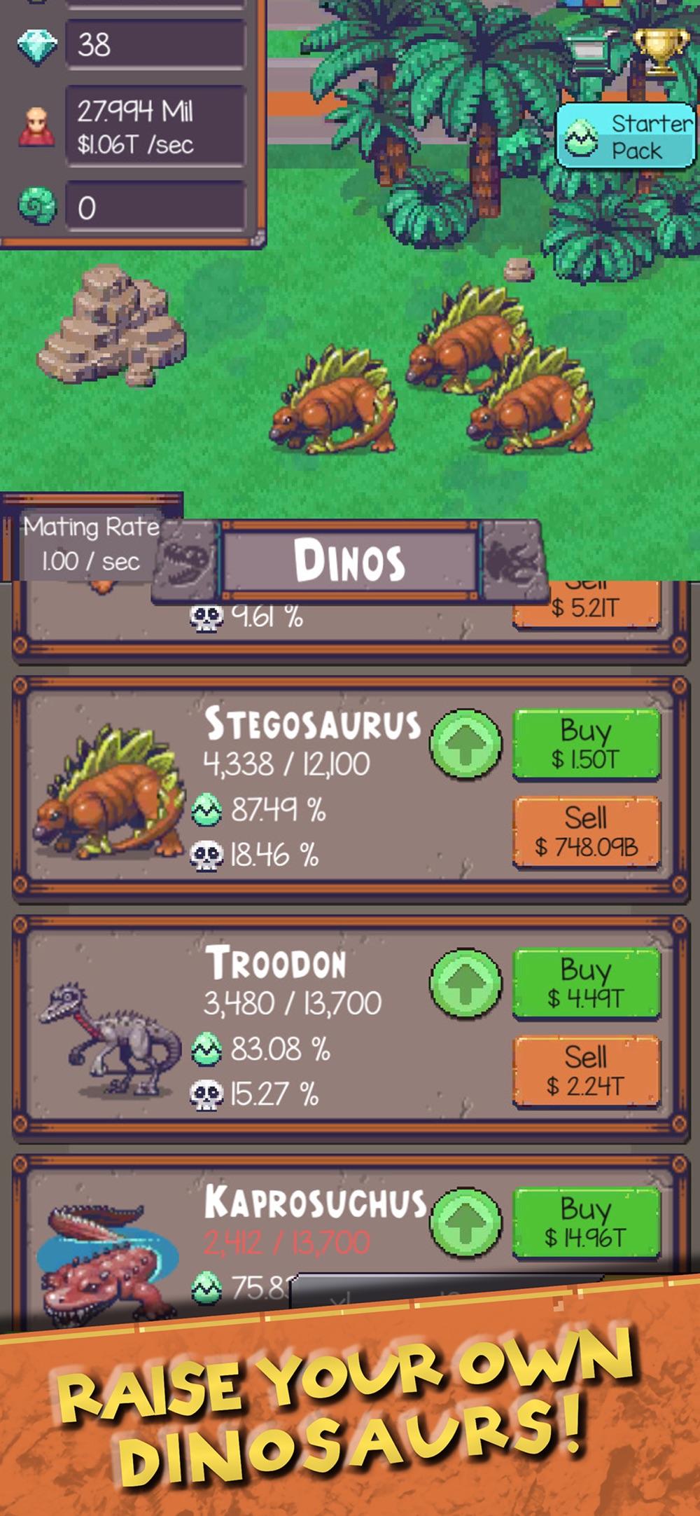 Idle Dino Zoo hack tool