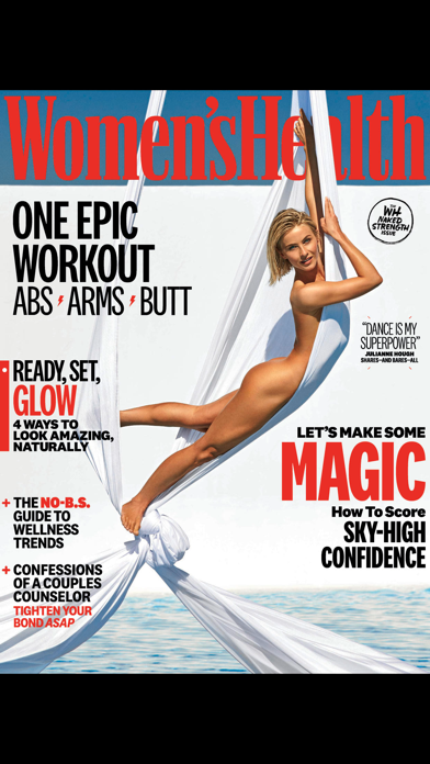 Screenshot for Women's Health Mag in Singapore App Store
