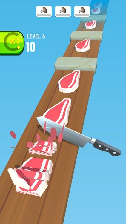 Knife Race 3D- Slice It Master