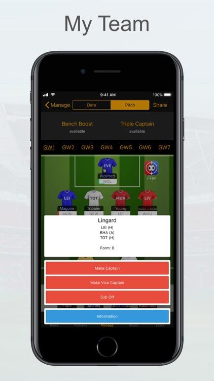 FPL Fantasy Football Manager screenshot-3