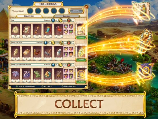 Jewels of Egypt: Match Game screenshot 13