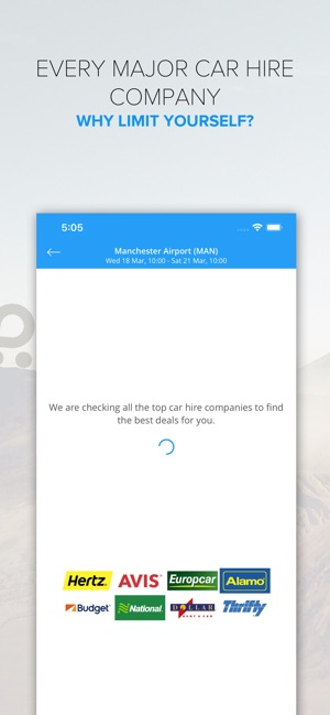 Rentalcars com - Car hire App on the App Store