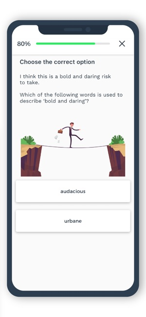 Improve English by Knudge me on the App Store