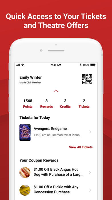 Cinemark Theatres - Revenue & Download estimates - Apple App Store - US