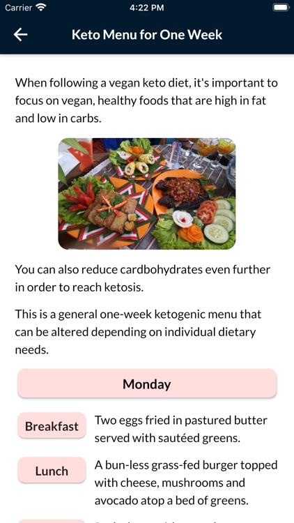 Keto Diet Plan For Weight Loss screenshot-4