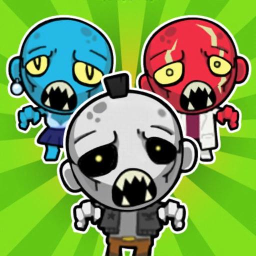 Zombie Rush: Puzzle Game