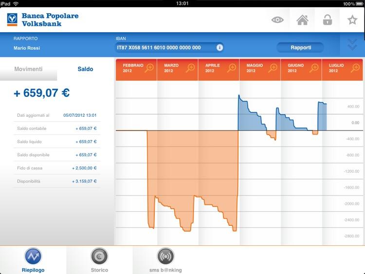 Banca Popolare·Volksbank iPad screenshot-3