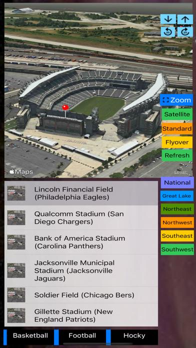 3D Sports Stadiums Lite screenshot 6