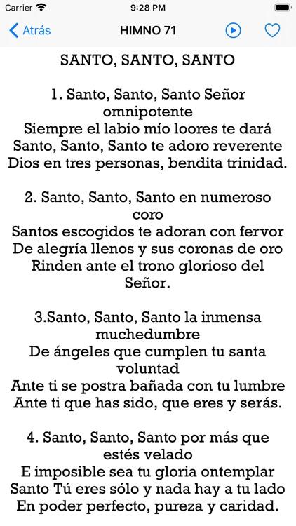 Himnario Cantos Espirituales screenshot-7