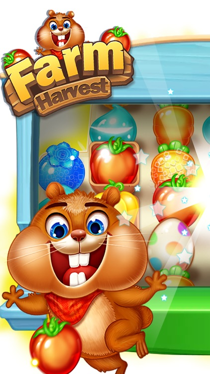Farm Harvest 3-Match 3 Puzzle