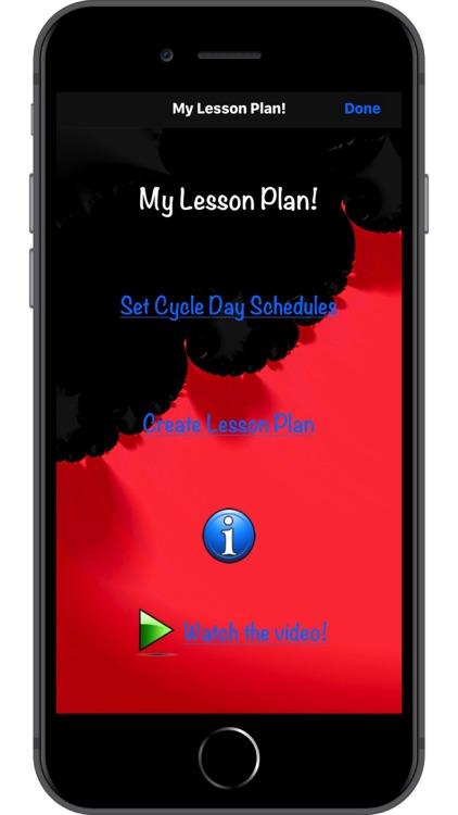 My Lesson Plan!