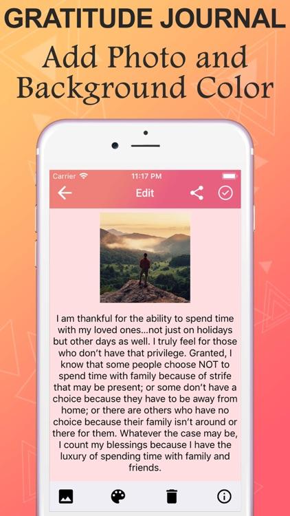Gratitude Journal & Diary screenshot-4