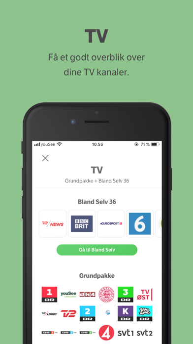 Screenshot for Mit YouSee in Denmark App Store