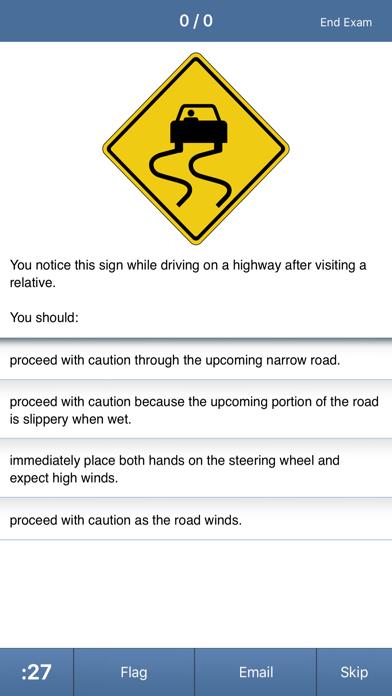 DMV Permit Test & Drivers Ed Screenshot