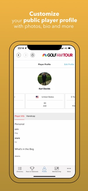 Golf Channel AM Tour on the App Store