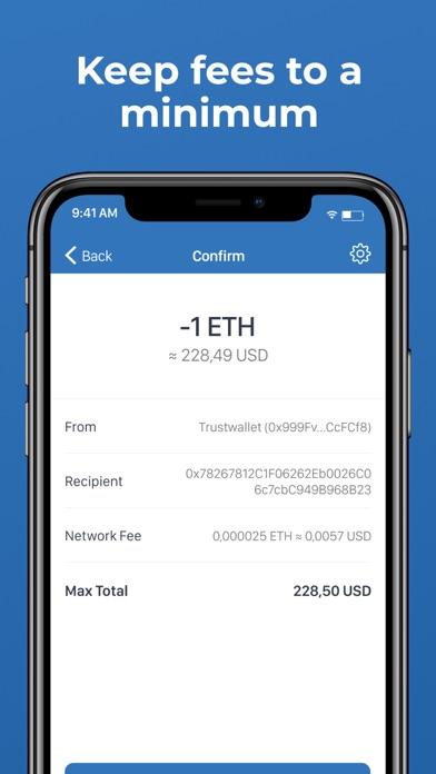 Trust: Crypto & Bitcoin Wallet Screenshot