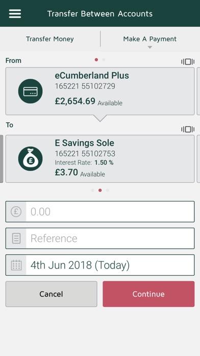 Cumberland Mobile Banking screenshot four