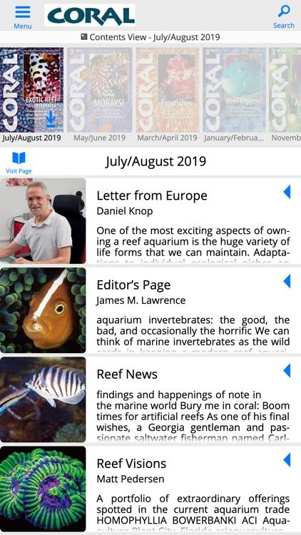 Coral Magazine screenshot-4
