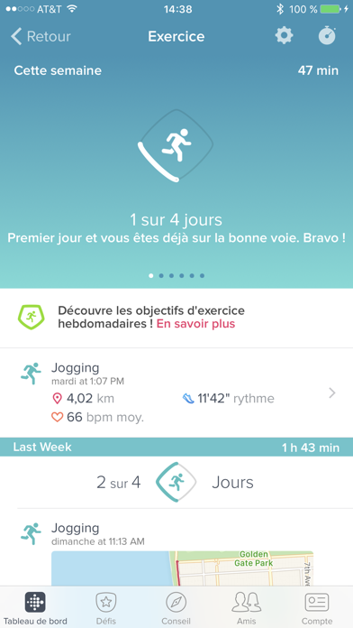 Screenshot #3 pour Fitbit