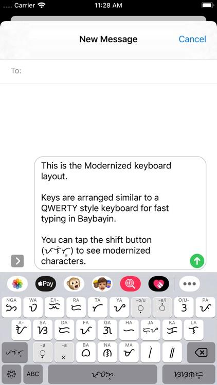 Baybayin Keyboard