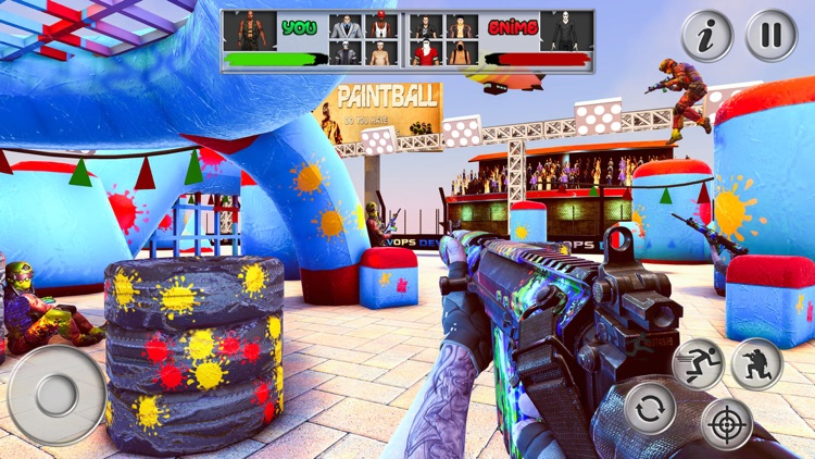Paintball Shooting Battle Game