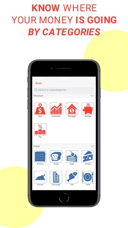 Track & Control Your Spending screenshot-5
