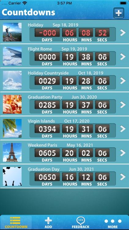 Big Days - Countdown screenshot-4