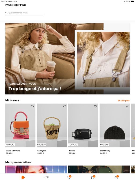 Zalando - Shopping mode