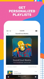 SoundCloud - Music & Audio iphone images