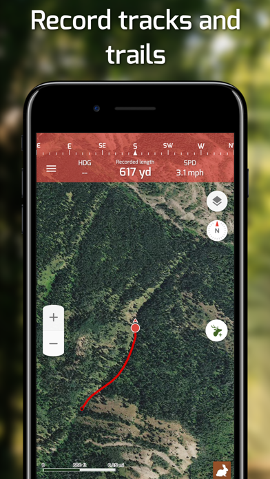Hunting Points: GPS Hunt Maps Screenshot