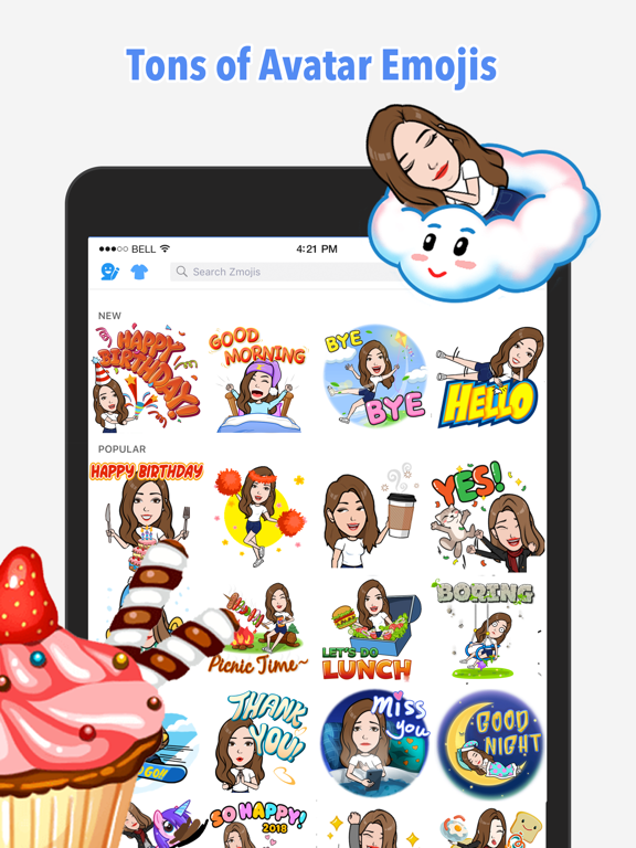 iPad Image of Your Avatar Creator | Zmoji