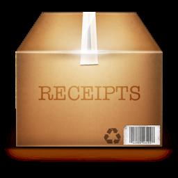 Ícone do app ReceiptBox