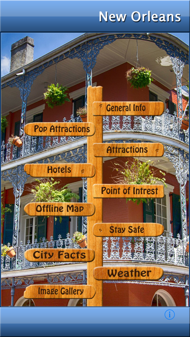 New Orleans Offline Map Guide