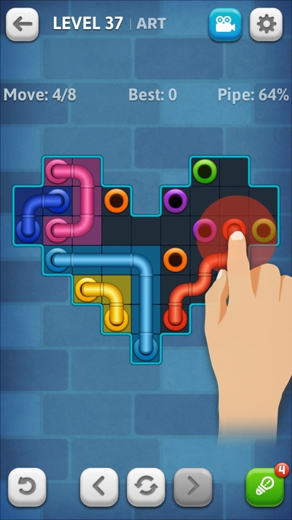Line Puzzle: Pipe Art screenshot-1