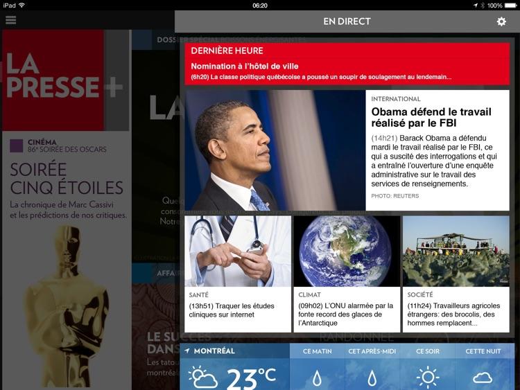 La Presse+ screenshot-4