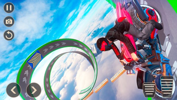 Mega Ramp Bike Stunts Games 20 screenshot-4