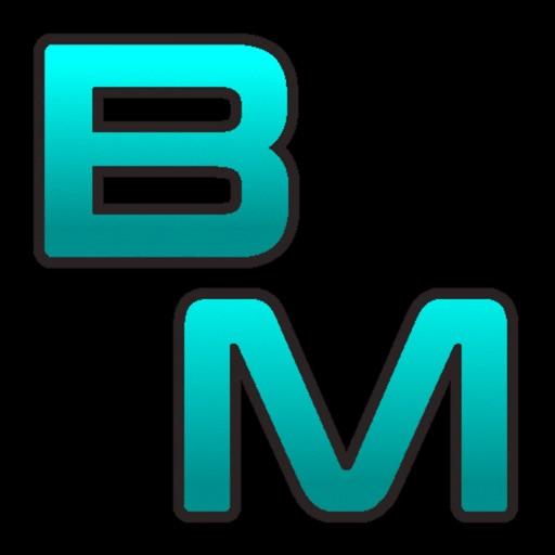 Block Mirror RH+