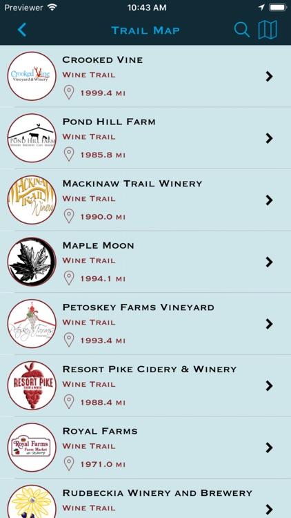 Petoskey Wine Region screenshot-3