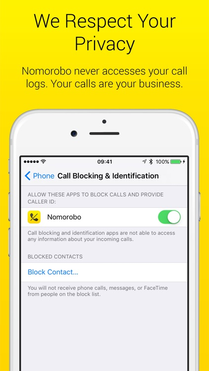 Nomorobo Robocall Blocking screenshot-7
