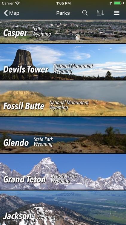 Wyoming Pocket Maps