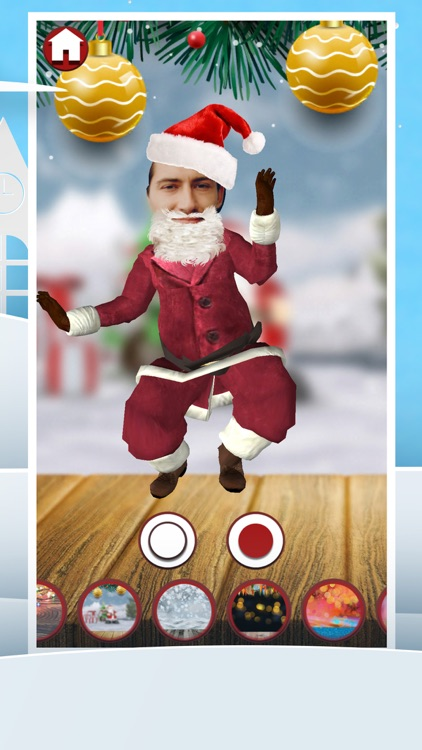 Santa Yourself - face in video screenshot-4
