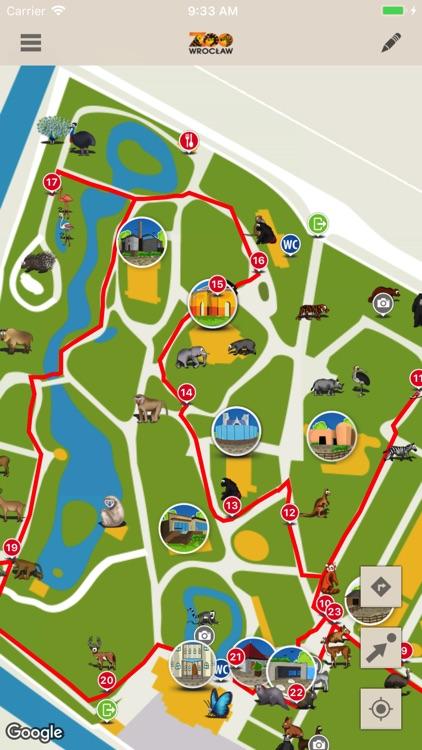 Zoo Wroclaw Mapa By Sii Polska