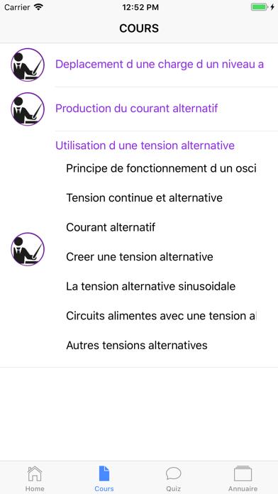 Physique 3ème screenshot 4