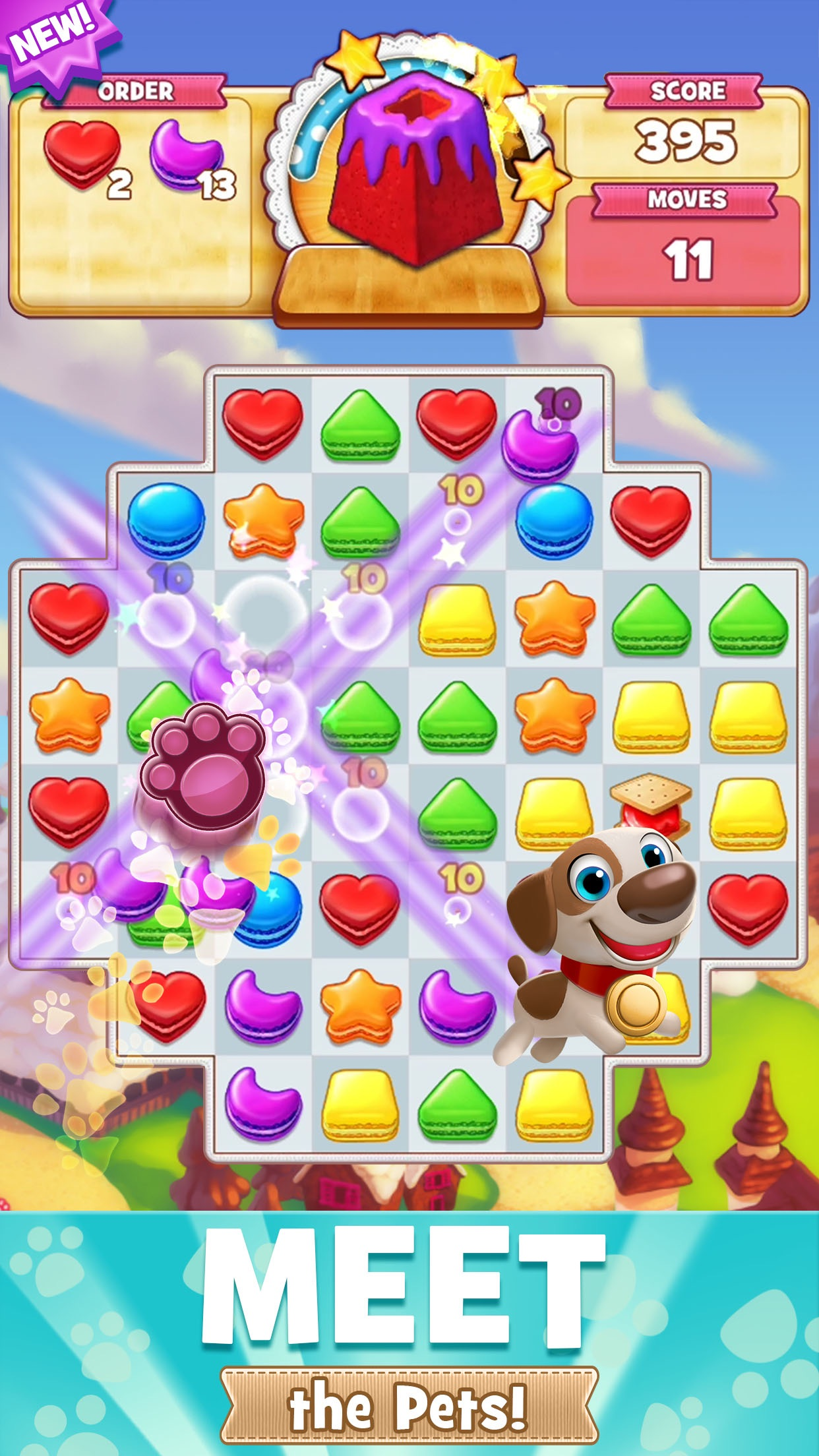 Cookie Jam - Match 3 Games Screenshot