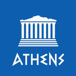 Ícone do app Atenas Guia de Viagem