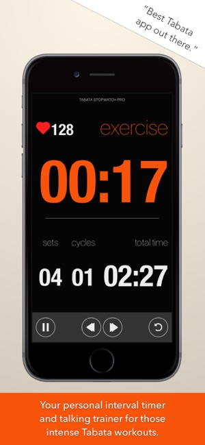 Tabata Stopwatch Pro on the App Store