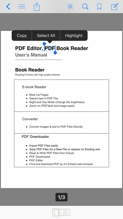 PDF Editor ,PDF Book Reader screenshot-7